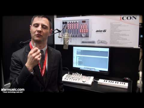 ICON @ MUSIKMESSE 2011: AIO6, G-BOARD, V GIG, iCONTROL PRO