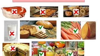 Diabetic or Diabetes Food To Eat and To Avoid