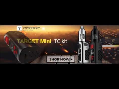 Target Mini Starter Kit Review by Vaporesso | Best New Mini Mod | IEvapor