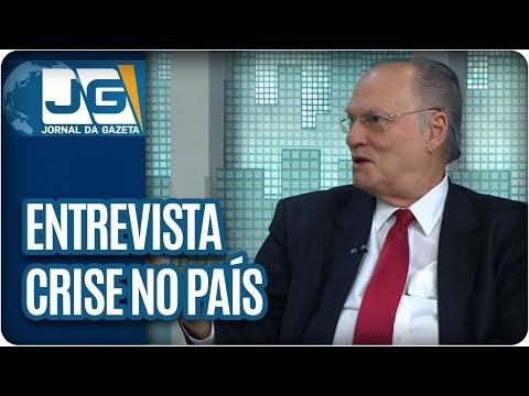Gamberini entrevista Roberto Freire, dep. fed. e pres. nacional do PPS, sobre a crise no País