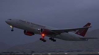 Omni Air B772 Takeoff - March ARB