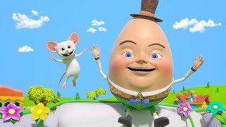 Humpty Dumpty | Kindergarten Nursery Rhymes for Kids by Little Treehouse