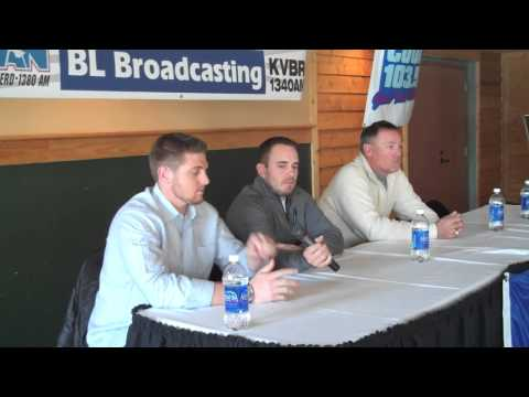 Four members of the Minnesota Twins organization stopped in Baxter at Arrowhead Lodge; Brian Duensing, Chris Parmelee, Tom Brunansky, Dan Gladden along with ...