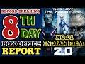2.0 8th Day Box Office Report   Rajinikanth   Akshay Kumar   Robot 2.0   2.0 8th Day Collection thumbnail