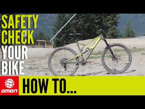 How To Safety Check Your MTB For Bike Park Riding | Mountain Bike Maintenance