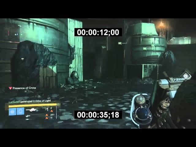 Destiny 42 Seconds Crota Kill - No glitches, No cheats, One sword