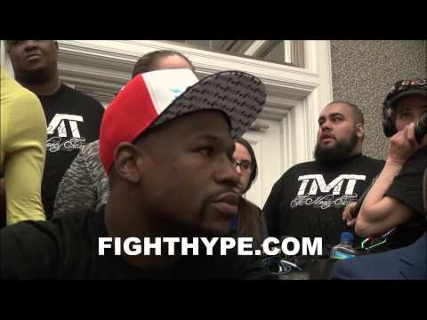 FLOYD MAYWEATHER EXPLAINS HOW BIG A MAYWEATHER EVENT REALLY IS COMPARES THEM MIKE TYSON FIGHTS