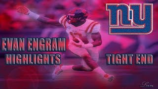 Evan Engram Ole Miss Highlights - New York Giants Tight End || Faster Than Odell || ᴴᴰ