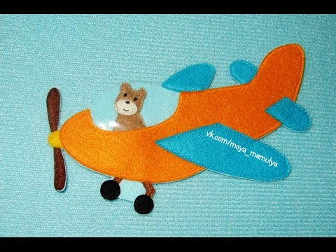 Развивающая книга #4 Самолеты / Quietbook#4. Airplanes for little boy ) / Developing book