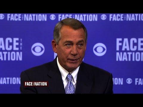 "John Boehner: Obama's ""overreaching"" to blame for DHS standoff"