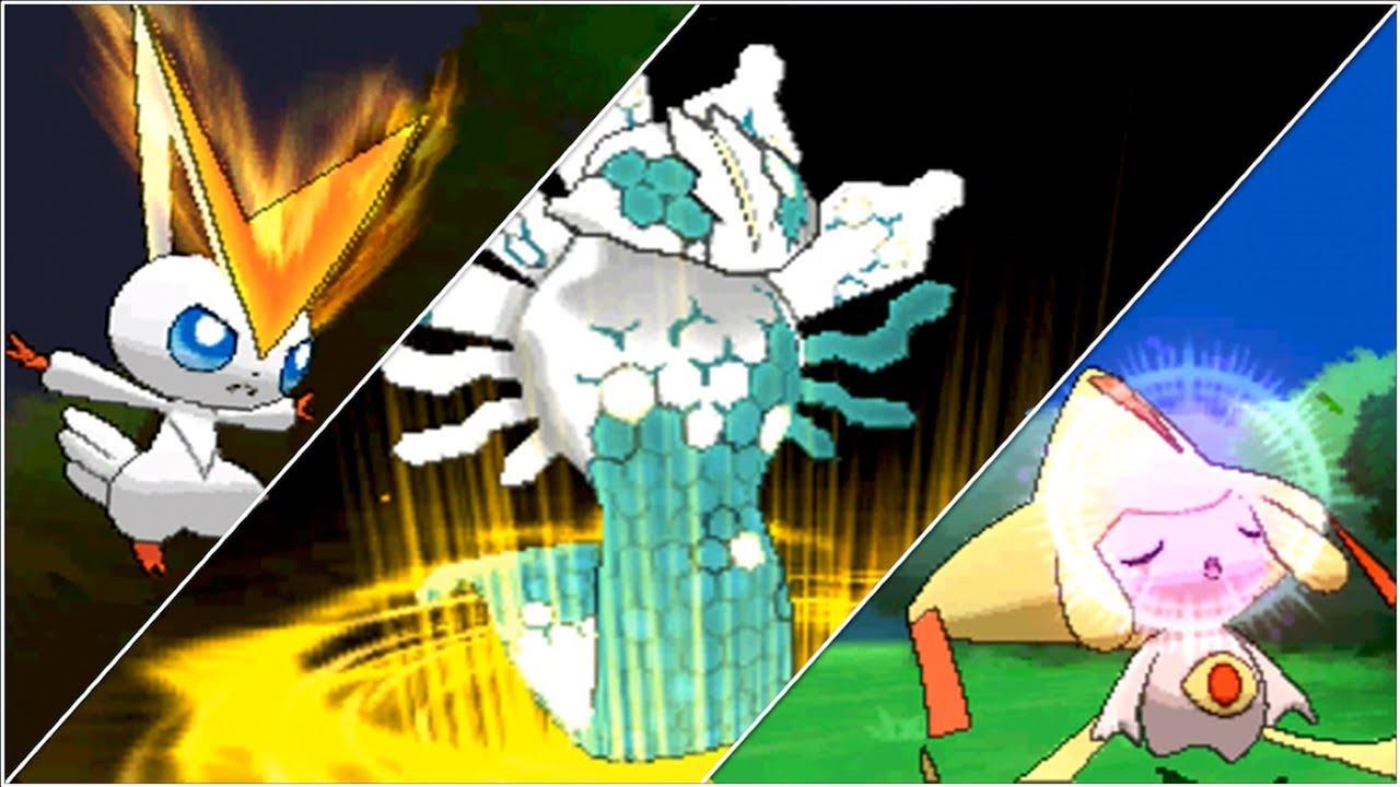 Pokemon x and y all shiny locked legendary pokemon w - Pokemon x pokemon rare ...