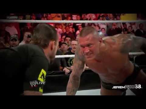 Wwe Randy Orton All Rko & Punt Kick On The Nexus video