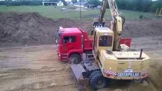 Caterpillar 212B FT #Mobilbagger #wheel #excavator