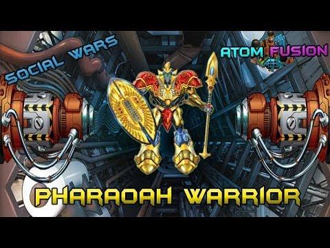 Social Wars - Atom Fusion Pharoah Warrior
