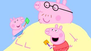 Peppa Pig in Hindi - Peppa Pig Samundar Ke Kinare Par - हिंदी Kahaniya - Hindi Cartoons for Kids