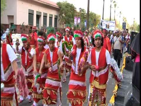 PEREGRINACION DE MATACHINES EN PHOENIX ARIZONA