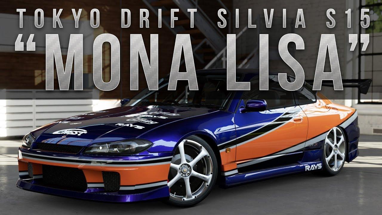 forza 5 fast  u0026 furious car build   tokyo drift s15  u0026quot mona