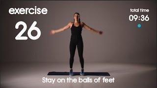 10 min Kids Cardio Workout - HIIT - 30s/20s Intervals - No equipment