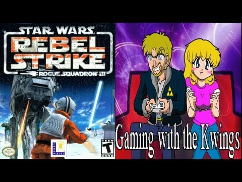 Gaming with the Kwings - Star Wars Rogue Squadron III Rebel Strike