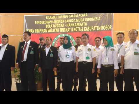 Pengukuhan LGMI DPW TK II Kota & Kabupaten Bogor Memperkuat Trimanunggal TNI POLRI LGMI