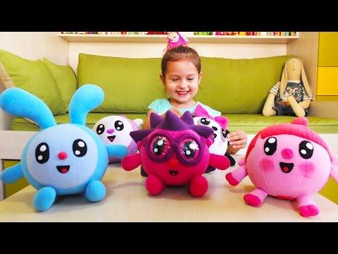 Малышарики игрушки. Подарок для Селин. День рождения