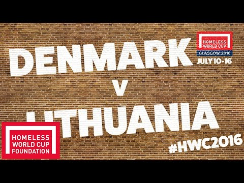 Denmark v Lithuania | Men's Plate 7th Place Play Off #HWC2016