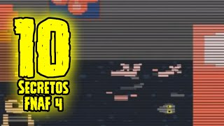 TOP 10: 10 Secretos De Five Nights At Freddy