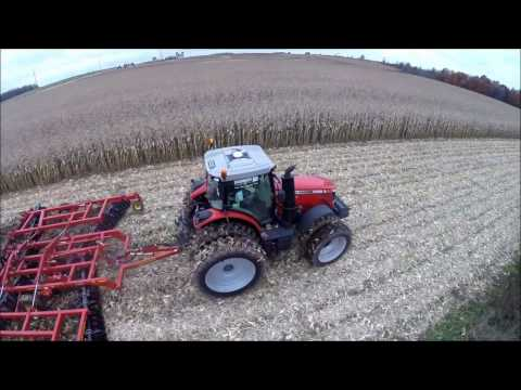 Massey Ferguson 8670 with SUNFLOWER 6631-27