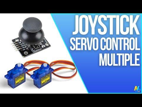 Arduino Tutorial Servo Motor Control With Joystick
