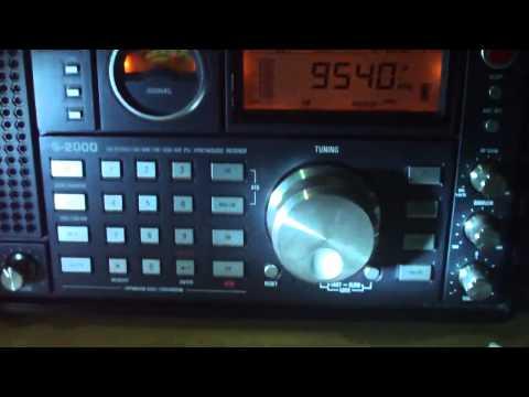 9540 khz RFE/ RADIO LIBERTY , In Language Russian , via Undor Thani ,Thailand