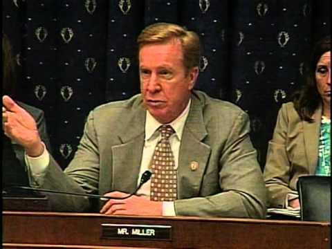 Rep. Miller Questions Fed Chairman Bernanke at FSC Hearing