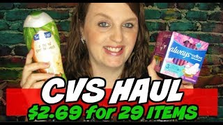 CVS Haul 29 Items for $2.69 July 21st-27th 2019