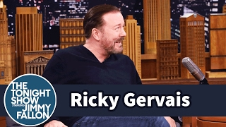 Ricky Gervais Refuses to Give Up Eating or Drinking to Lose Weight