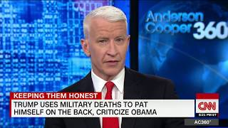 Cooper: Trump turned deaths into own gain