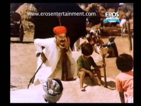 Young naughty Sunil Dutt in movie Mother India