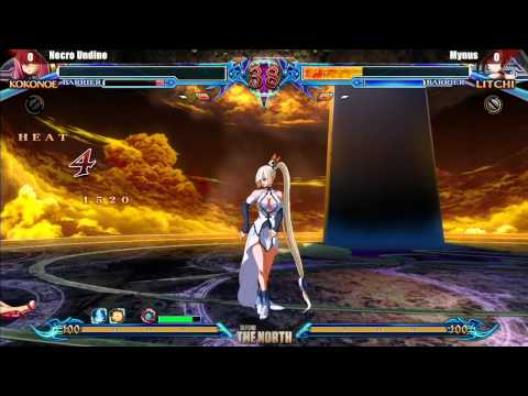 Blazblue: Chrono Phantasma Top 4  Defend The North video