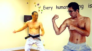 Must Watch! Western and Eastern Martial Art Work Out! Secret Fact!