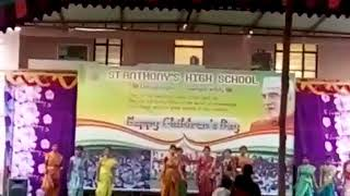 St Anthony's high school 9th a3 girls dance perfomence