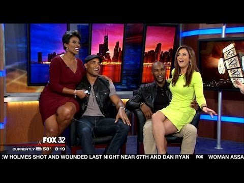 Good Day crew have fun with stars of `Addicted`