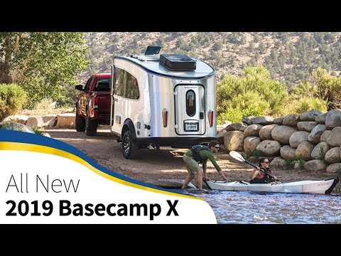 2019 Airstream Basecamp X Off Road Extreme Adventure Camping Trailer Announcement Walk Through