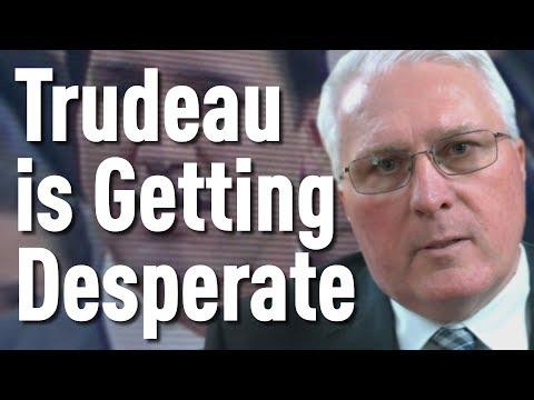 Trudeau is Getting Desperate  John Brassard Explains