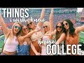 THINGS I WISH I KNEW BEFORE COLLEGE | 2017