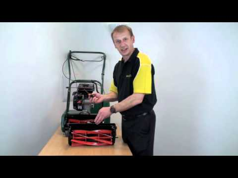 Qualcast CEM 30 & CPM35 - How to adjust the cutting cylinder