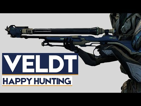 Warframe: Veldt - Precise & Rapid Hunting with Added zoom!