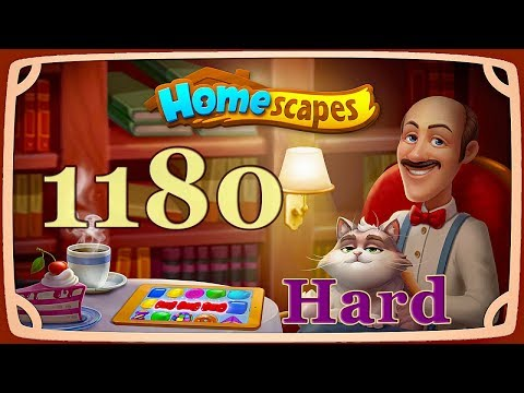 HomeScapes Hard level 1180