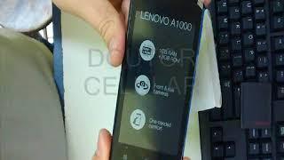 Dr.Celular - Lenovo A1000 - Unboxing - Tirando da caixa / Veja o que acompanha no kit