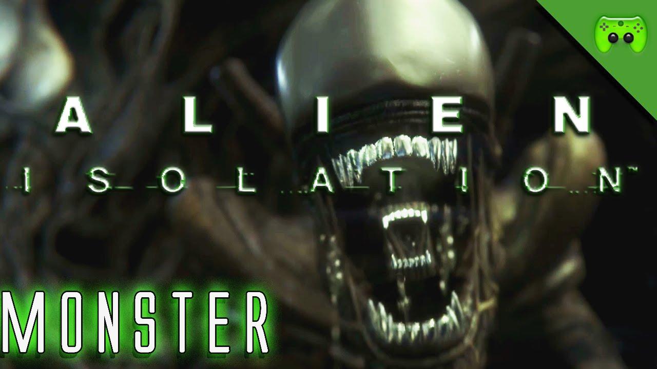 alien isolation 31 monster let 39 s play alien. Black Bedroom Furniture Sets. Home Design Ideas