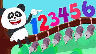Learn To Count | Animal Songs For Kids | Nursery Rhymes For Children