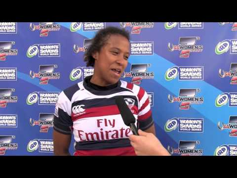 USA vs. Australia - Nathalie Marchino's post-game comments at Houston Sevens