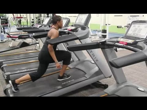 Exercises To Get A Big Butt Using A Treadmill : Training & Body Sculpting video